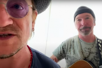 Watch Bono and the Edge Cover Led Zeppelin's 'Stairway to Heaven'