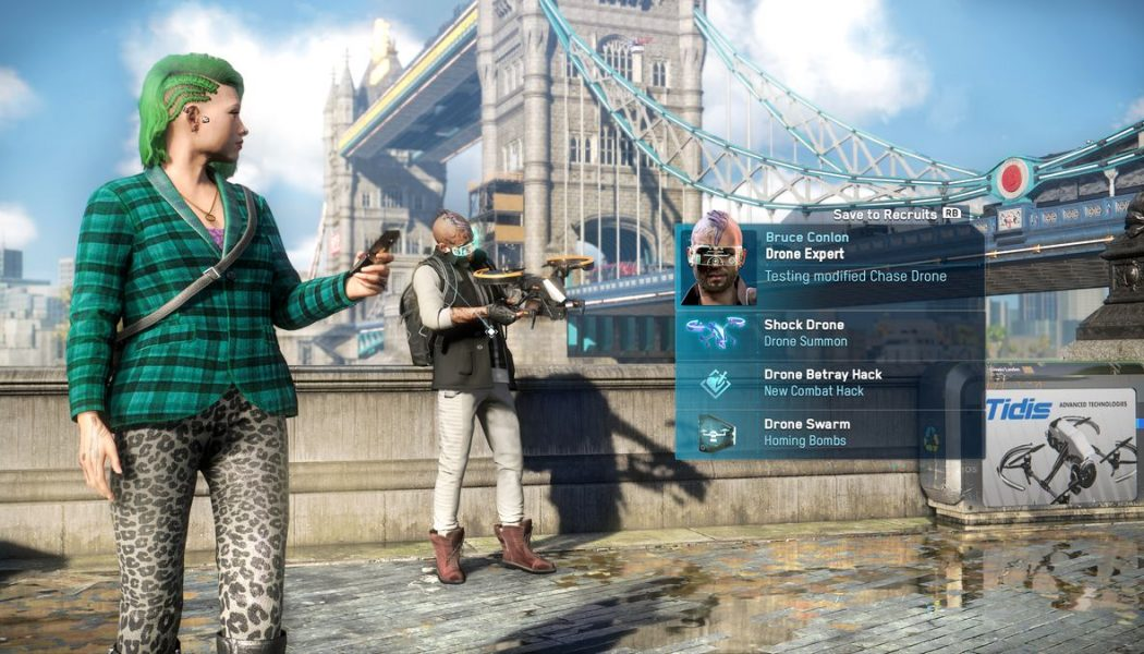 Watch Dogs: Legion has millions of playable characters, but most feel the same