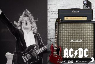 Win an AC/DC Guitar Rig Just Like Angus Young's from Back in Black