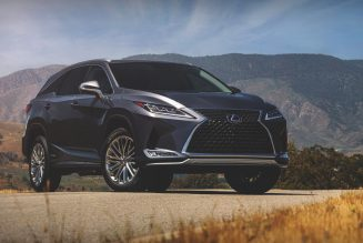 2021 Lexus RX SUV Is Partially Redacted By Black Line Special Edition