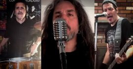 ANTHRAX And DEATH ANGEL Members Cover U2's 'City Of Blinding Lights' (Video)