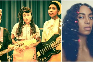 """Big Joanie Share Punk Cover of Solange's """"Cranes in the Sky"""": Stream"""