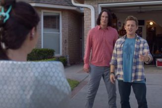 Bill and Ted Meet Rufus' Daughter in First Face the Music Clip: Watch