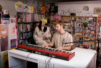 Billie Eilish and Finneas Recreate NPR Music's Tiny Desk Set for At-Home Performance