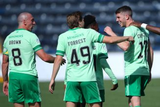 Chris Sutton and John Hartson react to Celtic's frustrating 1-1 draw on Twitter