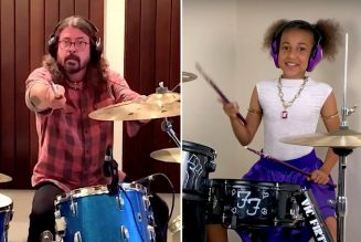 Dave Grohl and 10-Year-Old Nandi Bushell Face Off in Drum Battle: Watch