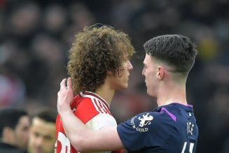 Declan Rice's 8-word reaction to Arsenal win against Chelsea in FA Cup