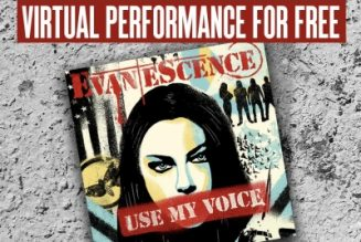 EVANESCENCE Partners With HeadCount For Campaign To Promote Voter Registration And Easy Access To Voting