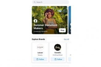 Facebook launches a Shop tab in its app, just like Instagram