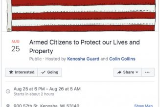 Facebook takes down 'call to arms' event after two shot dead in Kenosha