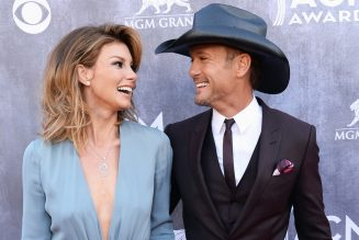 Faith Hill Shares Romantic Slow Dance With Tim McGraw During His Surprise 'Family Album Release Party'