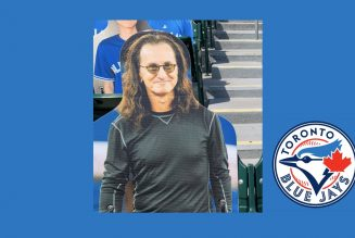 Geddy Lee Is Closer to the Heart of Toronto Blue Jays Game, Thanks to Cutout of Rush Legend
