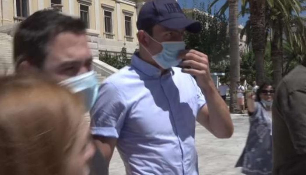 Harry Maguire avoids questions after appearing in court over Mykonos 'fight'