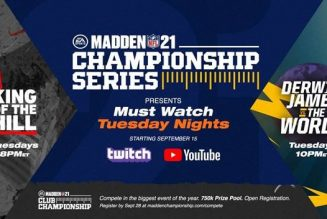 HHW Gaming: EA & NFL Taking Over Tuesdays With New 'Madden NFL 21' Championship Series