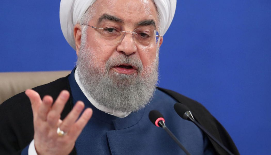 Iranian president threatens consequences if arms embargo extended