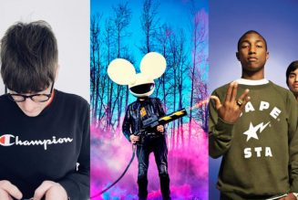 """Jay Robinson Delivers a Heavy Dose of Acid House on Monster """"Pomegranate"""" Remix for deadmau5 and The Neptunes"""