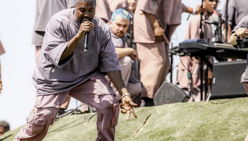 Kanye West Re-Boots Sunday Service For COVID-19 Era
