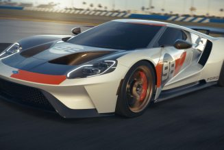 Latest Ford GT Heritage Edition Celebrates The Original GT's 1966 Daytona Win