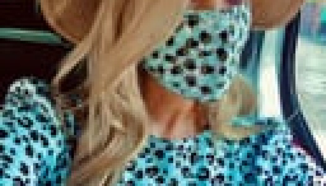 Laura Whitmore's Printed Face Mask and Tea Dress Matching Set Is Still Available to Shop