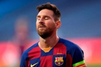 Lionel Messi makes contact with Pep Guardiola over Manchester City move