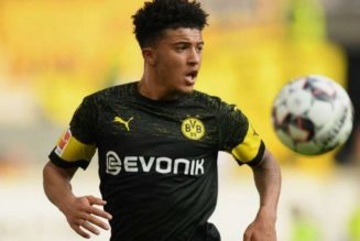 Manchester United 'focusing on Jadon Sancho not Lionel Messi'