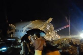 Many feared dead as Indian plane crashes