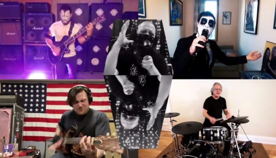 Max Weinberg Joins Members of My Chemical Romance, Hatebreed, and Dillinger Escape Plan for Misfits Cover: Watch