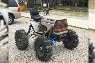 Maybe We Should All Be Off-Roading on Riding Lawnmowers