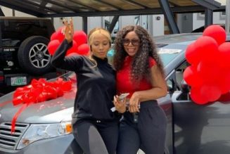 Mercy Eke buys elder sister a new car as birthday gift