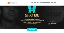 Microsoft Launches Safe@Home Hackathon to Tackle GBV