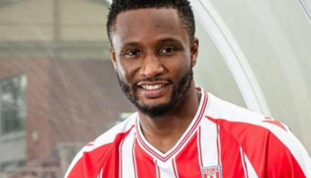 Mikel Obi wants to be father figure at Stoke City