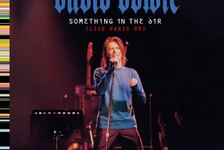 New David Bowie Live Album Something in the Air Revealed: Stream