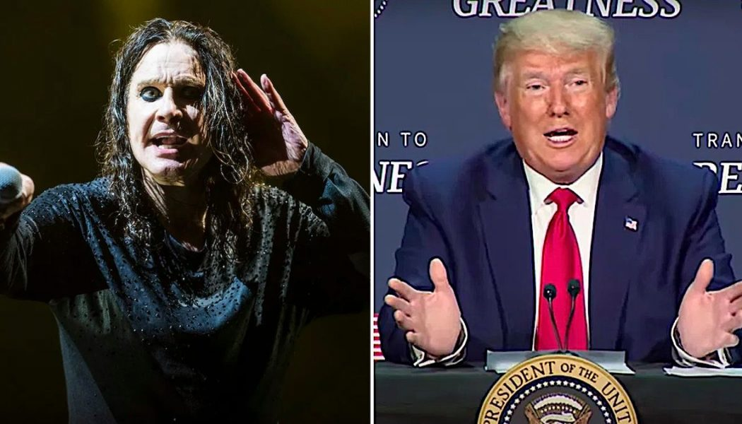 """Ozzy Osbourne on Trump's Pandemic Response: """"This Guy's Acting Like a Fool"""""""