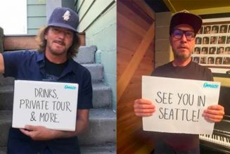 Pearl Jam Launch Voting Rights Sweepstakes