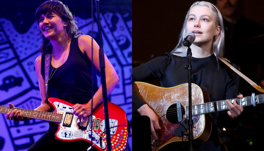 "Phoebe Bridgers and Courtney Barnett Team Up to Cover Gillian Welch's ""Everything Is Free"": Watch"
