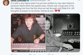 R.I.P. Martin Birch, Producer for Iron Maiden, Fleetwood Mac, Deep Purple and More, Dies at 71