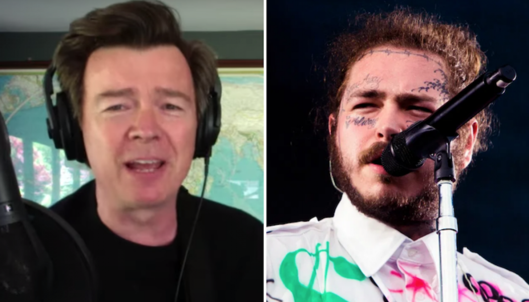 """Rick Astley Turns Post Malone's """"Better Now"""" into an Acoustic Banger: Watch"""