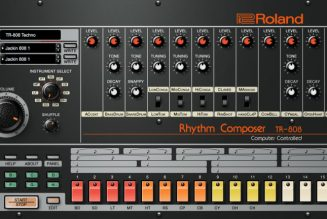 Roland Celebrates 40 Years of TR-808 with Mini-Documentary and Free DAW Plugin