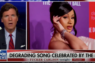"""Sexually Repressed Fox Anchor Tucker Carlson Freaks Out Over """"WAP"""" Video: Watch"""