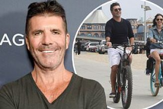 Simon Cowell Hospitalized With Broken Back After Falling Off Electric Bicycle
