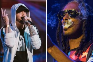 """Snoop Dogg Says Eminem Is Not One Of His """"Top 10 Rappers Of All Time"""""""