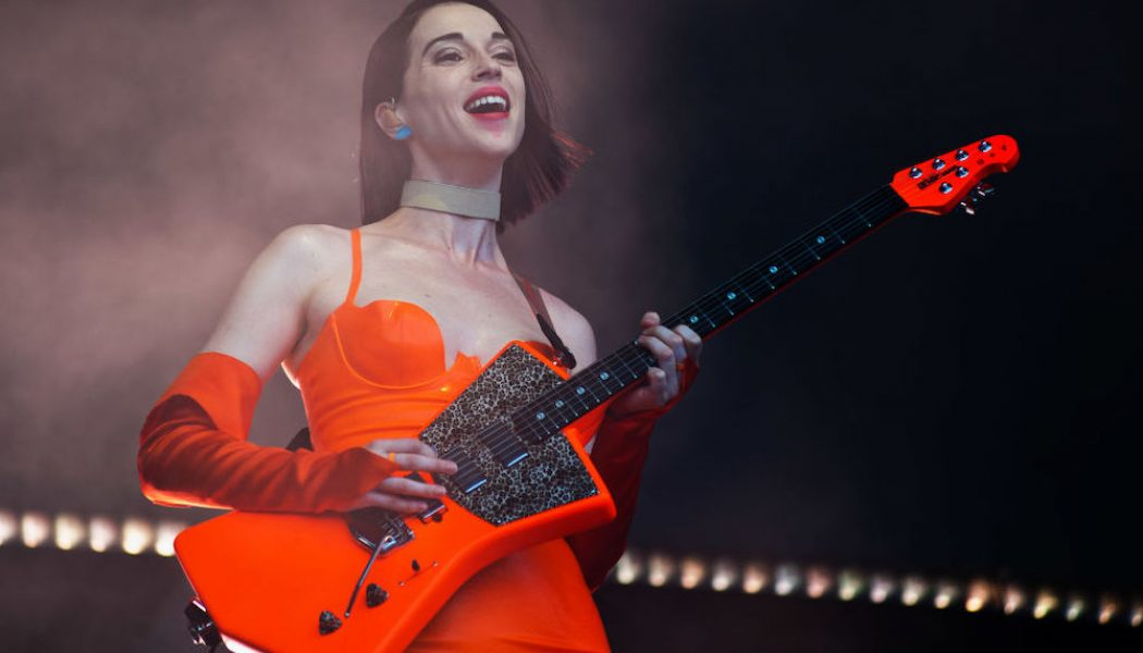 St. Vincent Digs Up Backstage Cover of Tool's 'Forty Six & 2′