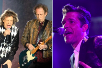 """The Rolling Stones Enlist The Killers for New Remix of """"Scarlet"""": Stream"""