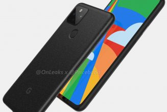 This could be the first real picture of the Pixel 5