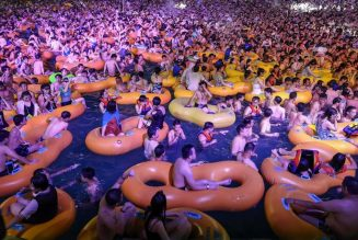Thousands Turn Out for EDM Concert in Wuhan, China