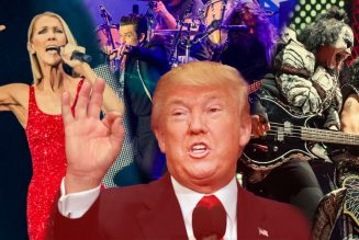 Trump Wanted The Killers, Celine Dion, Kiss, or Meat Loaf to Play His Inauguration