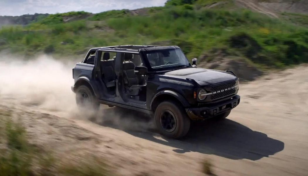 Tubular! These Are Almost Definitely the 2021 Ford Bronco's Tube Doors