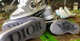 U.S. Customs Confiscates 1,800 Pairs of Bootleg Dior x Air Jordan 1's