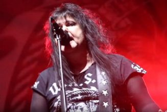 W.A.S.P.'s BLACKIE LAWLESS Pays Tribute To FRANKIE BANALI: 'My Friend Is Gone'