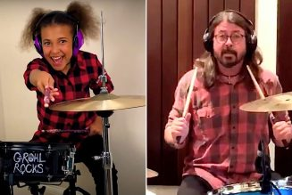 10-Year-Old Nandi Bushell Continues Drum-Off with Dave Grohl by Rocking Them Crooked Vultures Song: Watch